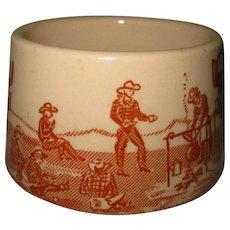 Chuck Wagon Coffee Cup / Mug, Wallace China