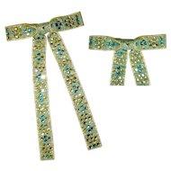 Rhinestone Bow Tie, Vintage Western