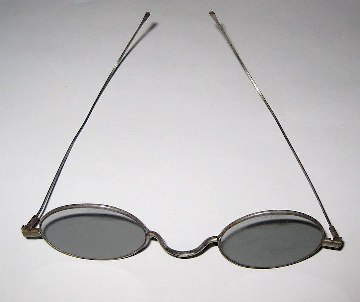 Wire Rim Eye Glasses, Antique Glasses Frames, Steam Punk : Lake Girl ...