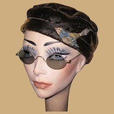 Wire Rim Eye Glasses, Antique Glasses Frames, Steam Punk