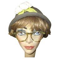 Vintage Lucite Confetti Eye Glasses Frames, 1950's