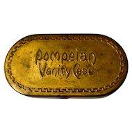 Pompeian Vanity Case, 1920 Vintage Compact