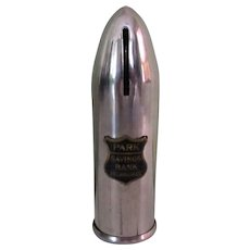 Stronghart Bullet Bank, Vintage 1918