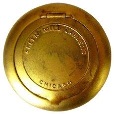Green Mill Chicago Memorabilia, Vintage Ladies Compact