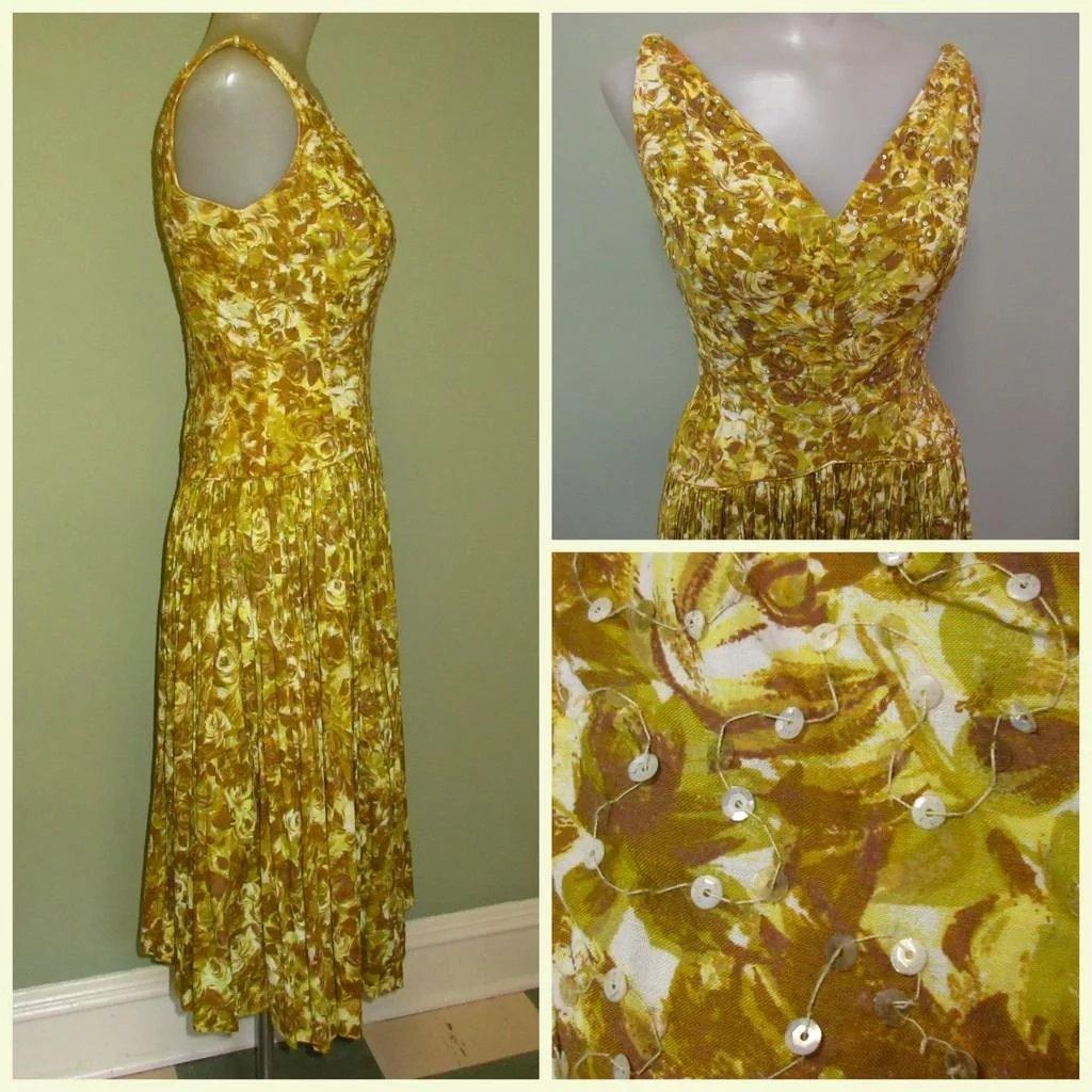 Vintage Sequined 36