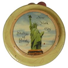 Statue of Liberty Vintage Tin, Early 1900's