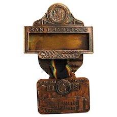 American Legion Medal 1946 San Francisco Delegate, National Convention