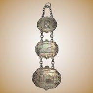 Antique 1909 Alaska Yukon Pacific Expo Medals, Set of 3