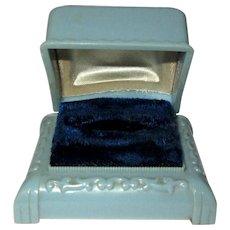 Celluloid Ring Box, Art Deco Presentation, 1920's
