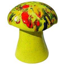 Vintage Mushroom Shaker, Cheese, 1960's