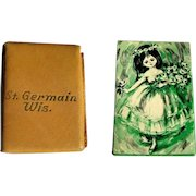 St. Germain, Wisconsin Souvenier, Vintage Mini Playing Cards