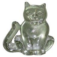 Kosta Boda Kitten, Vintage Crystal Figurine 1960's