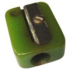 Bakelite Pencil Sharpener, Vintage Key Chain