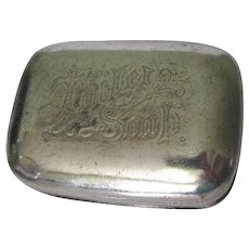 Vintage Soap Dish / Keeper Box