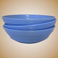 Moderntone Platonite Small Bowl, Hazel-Atlas Glass Blue