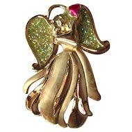 Guardian Angel Pin. Vintage