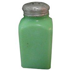 Jadeite Shaker, Dark McKee Glass, Vintage