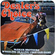 Parker Brothers Game, Dealer's Choice, 1972