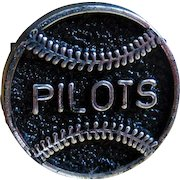 Seattle Pilots Ring, Vintage 1969 Plastic