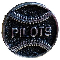 Seattle Pilots Ring, Vintage 1969 Plastic