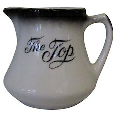 Vintage Cream Pitcher, Restaurant Ware, The Top Steakhouse