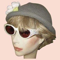 eac462d5ed86 Vintage Rhinestone Eyeglass Frames, Italy 1950's Sun Glasses. Lake Girl  Vintage