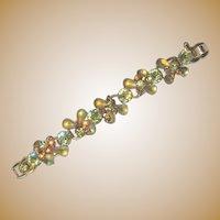 Juliana Rhinestone Bracelet, Crystals, 5 Link