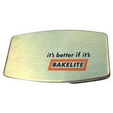 60's Zippo Pocket Knife, Bakelite Advertising