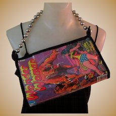 Wonder Woman Purse, Vintage Comic Book, 1977