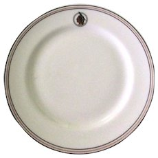Restaurant China, Indian, Syracuse Vintage Plate