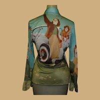 Nik Nik Shirt, Vintage 1970's Iconic Disco