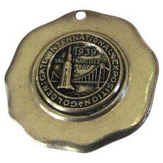 1939 San Francisco Exposition, Golden Gate Medallion / Necklace