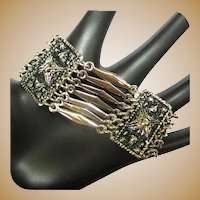 Mexican Bracelet, Vintage Silver Links