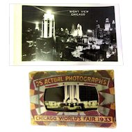 1933 Chicago World's Fair, Photographs, Art Deco Card Pack