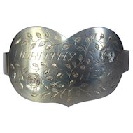 Sweetheart Bracelet, Valentine Trench Art, 1945,  WWII France