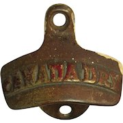 Vintage Canada Dry Bottle Opener, Cabinet  /  Wall Mount