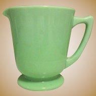 Jadeite McKee 4 Cup Measure, Depression Glass Pitcher
