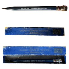 Chicago World's Fair 1933 Mechanical Pencil, Orig Box