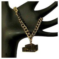 Vintage PTA Charm Bracelet, National Congress of Parents & Teachers