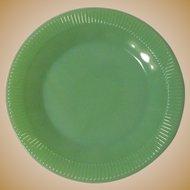 Jadite Dinner Plates, Fire King Jane Ray Jadeite, Vintage 50's