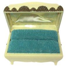Celluloid Ring Box, Vintage Art Deco Presentation