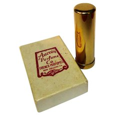 Vintage Travel Perfume, Jeweled Bottle, Aucoin French Perfume Co. New Orleans