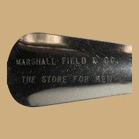 Marshall Field's Shoe Horn, Men's Store, Vintage Chicago
