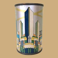 Tin Bank Canco, Chicago World's Fair Century of Progress, 1934 Art Deco