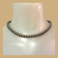 Bicycle Chain Necklace, Vintage 50's or 60's
