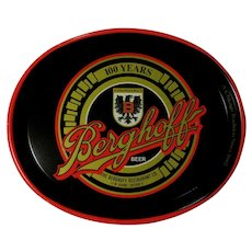 Berghoff Beer Tray, 1987, Chicago, IL, 100 Years