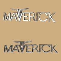 Vintage Metal Ford 1970-1977 Maverick Car Emblem Badge