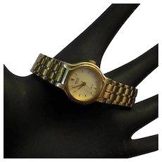 80's Seiko Quartz Watch, Ladies, Mesh Band, Stainless Steel, Japanese Movt. Runs