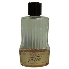 Vintage Bouquet Lentheric Tweed Cologne, 3 & 1/2 Oz Perfume Splash