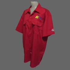 Vintage Work Shirt, Men's XL, Embroidered California State Fair, Dickies
